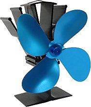 lxiluv Termoventilatore a 4 Pale,Ventilatore per