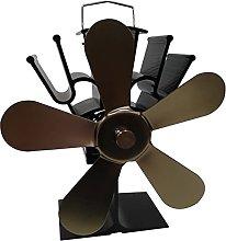 lxiluv Ventilatore della Stufa del Camino,