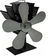 lxiluv Ventilatore per Camino, Termoventilatore a