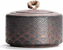 LXM - Barattolo in ceramica per tè in stile cinese