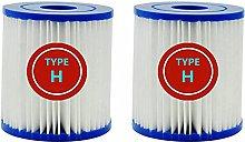 LXTOPN Cartuccia filtro per piscina tipo H per