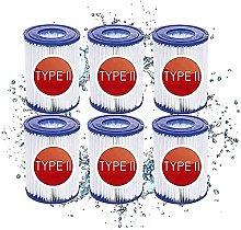 LXTOPN Filtri per piscina tipo 2 Cartuccia filtro