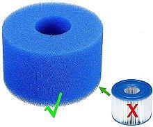 LXTOPN Spugna filtrante per Intex tipo S1, filtro