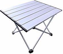 LYLY Tavolo da campeggio pieghevole in alluminio