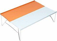 Lyly, tavolo pieghevole in alluminio per esterni,