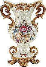 LZQBD Vasi, Flower Resina Vaso Tavola Decorativa