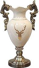 LZQBD Vasi, Vaso in Ceramica in Resina Leggera,