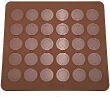 Macaron Stampo Forno Silicone 30 Capacità