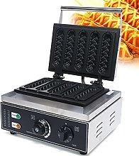 Macchina per waffle automatica 5 pezzi con
