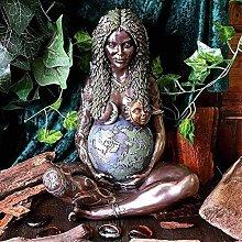 Madre Terra Dea Statua,Millenaria Gaia Art
