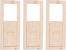 MagiDeal 3 Pezzi Sauna Air Vent Panel Regolabile