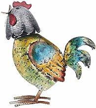 MagiDeal Colorato Gallo Figurine Scultura di Arte