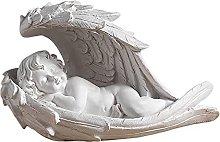 MagiDeal Della resina di Angelo Cherubino Figurine