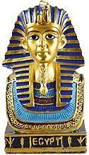 MagiDeal Egiziano Re Tut Resina Statua Figurina