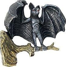 MagiDeal Giardino Esterno Statua di Pipistrello