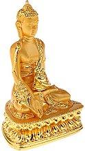 MagiDeal Meditazione Buddha Statua Religione