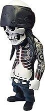 MagiDeal Resina Hip Hop Commemorative Skeleton