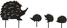 MagiDeal Set di Ricci Arte da Giardino, Statua con