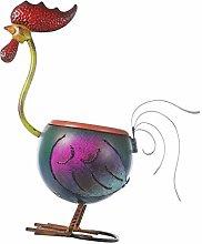 MagiDeal Statua del Gallo di Ferro Scultura da
