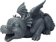 MagiDeal Statua della Fontana del Drago del