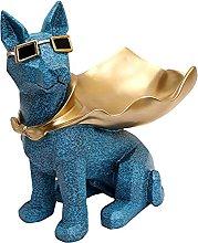 MagiDeal Statua di cane Statuetta in resina