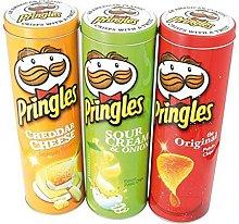 maiuguali Barattolo Pringles in Latta