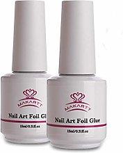 Makartt Nail Art Foil Glue Gel per Unghie di