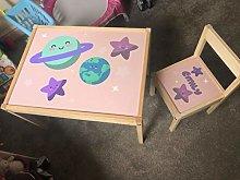MakeThisMine - Tavolo per bambini e 1 sedia in