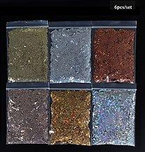 MALAT 10g Holographic AB Glitter per Unghie