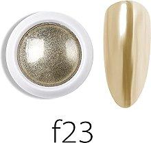 MALAT Manicure per Unghie Specchio Glitter Polvere