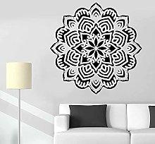 Mandala Yoga Flower Sign Wall Sticker Home Decor