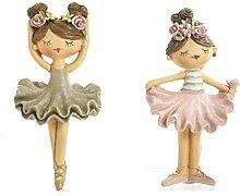 Mandorle by Paben 12 Pezzi Calamita Ballerina in