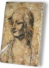 MANI arte soprammobile 10x15 in Marmo Giallo Reale