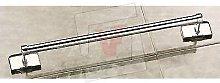 Maniglione per bagno acciaio cromato cm 60 arredo
