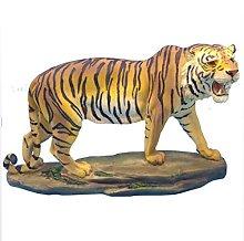 Mankvis Simulazione Tigre Statua Scultura, Resina