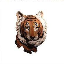 Mankvis Testa di Tigre Statua Scultura,