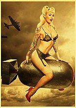 maohelaoshu Vinatge Seconda Guerra Mondiale Sexy