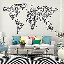 Mappa del mondo Murale Mappa del mondo Adesivi
