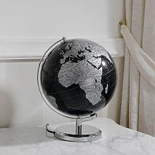 Mappamondo Magno globo luminoso da tavolo nero