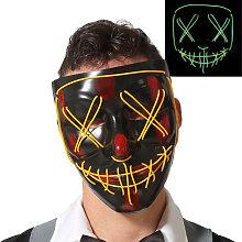 Maschera Halloween Luce