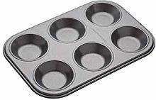 MasterClass Stampo / Teglia per 6 Muffin,
