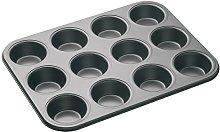 MasterClass Teglia per 12 Muffin/Cupcake