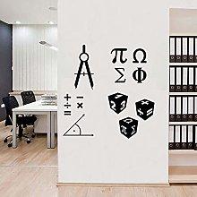 Matematica Simbolo Segno Adesivi Murali Matematica