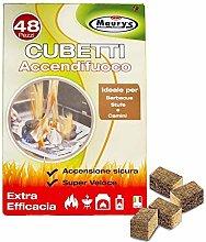 Maury's Cubetti Accendifuoco Ecologico per