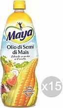 Maya Set 15 Olio Semi di Mais Lt 1 Condimento E