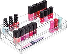 mDesign Organizer per cosmetici – Box a 4