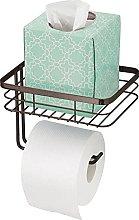 mDesign Porta carta igienica – Portarotolo da
