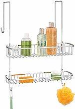 mDesign Portaoggetti per doccia da appendere –