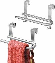 mDesign Set da 2 Porta asciugamani cucina –