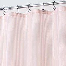 mDesign Tenda per doccia in stoffa – Elegante